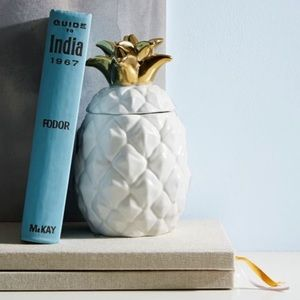 West Elm Pineapple Candle